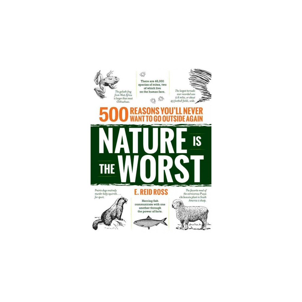 Nature Is the Worst : 500 Reasons You'll Never Want to Go Outside Again (Paperback) (E. Reid Ross)