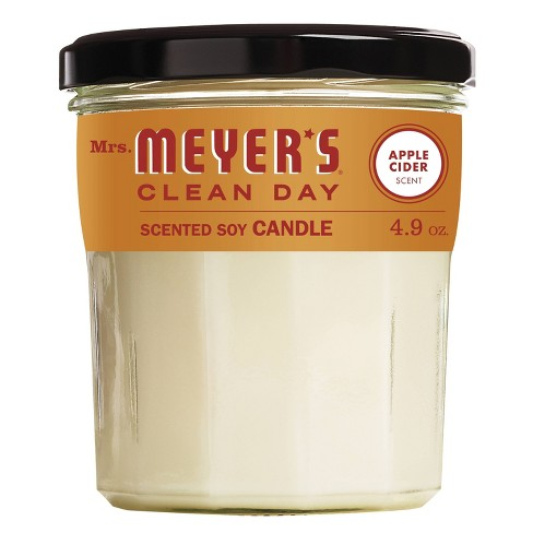 Mrs. Meyer's Clean Day Soy Candle - Apple Cider - 4.9oz - image 1 of 4