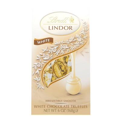 Lindt Lindor White Chocolate Truffles - 6oz