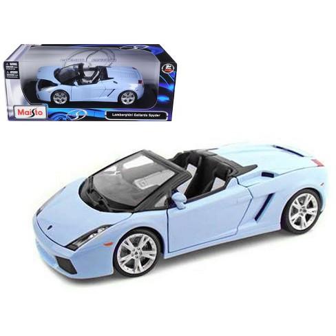 Lamborghini Gallardo Spyder Blue 1 18 Diecast Model Car By Maisto