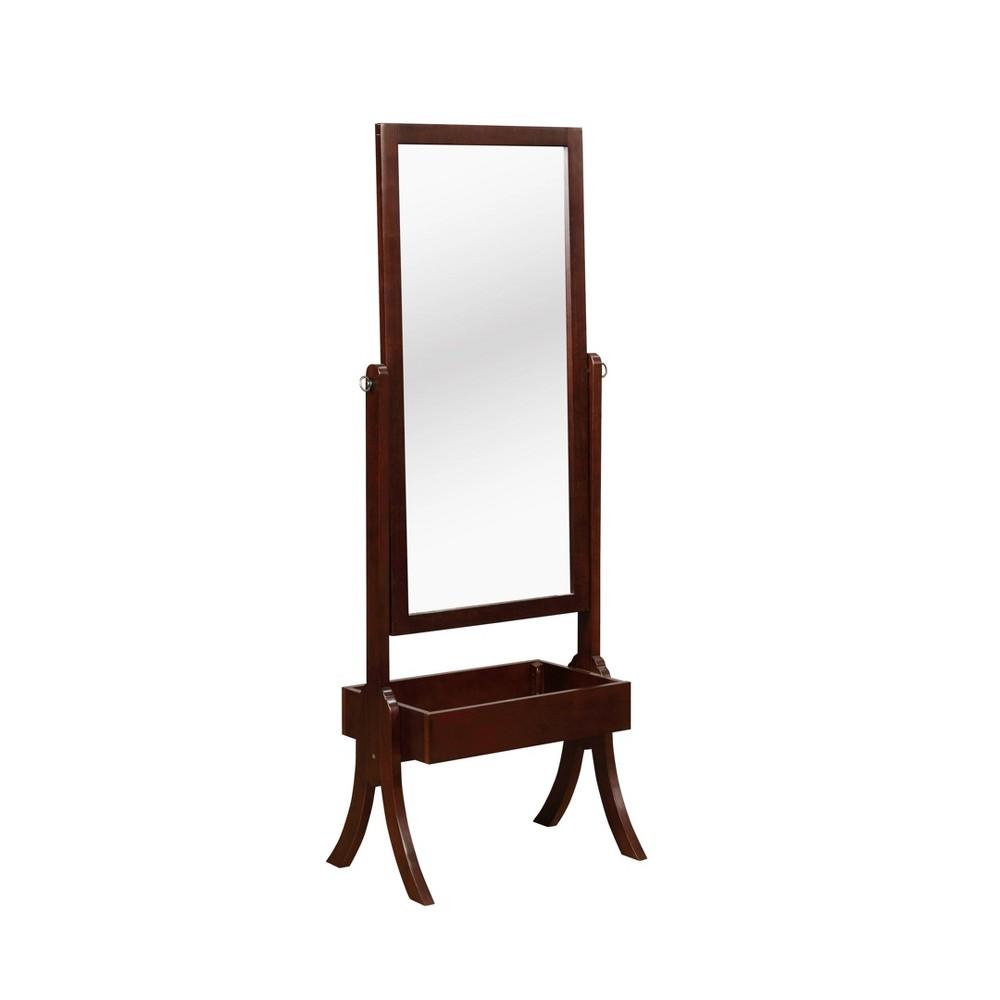 Image of Aurora Cheval Mirror Cherry - Powell Company
