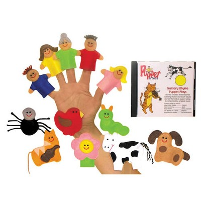 Get Ready Kids Nursery Rhyme Finger Puppet Set