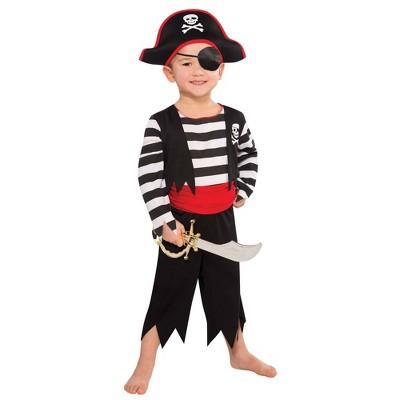 Kids' Rascal Pirate Halloween Costume