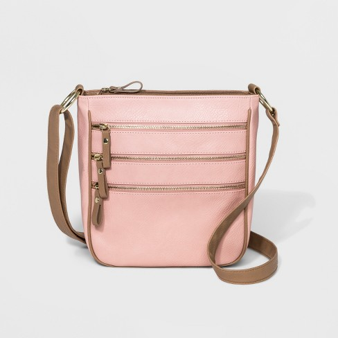 Bueno Triple Zip Crossbody Bag - image 1 of 6
