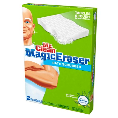Mr Clean Magic Eraser Bath Cleaning Pads With Durafoam Meadows