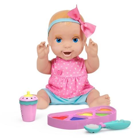 Mealtime Magic Mia Interactive Feeding Baby Doll - image 1 of 4