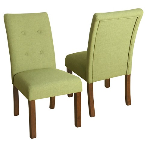 Kristin Tufted Dining Chair (Set of 2) - Textured - HomePop - image 1 of 4