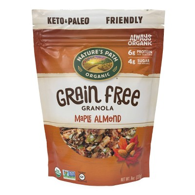 Nature's Path Grain Free Maple Almond Granola - 8oz