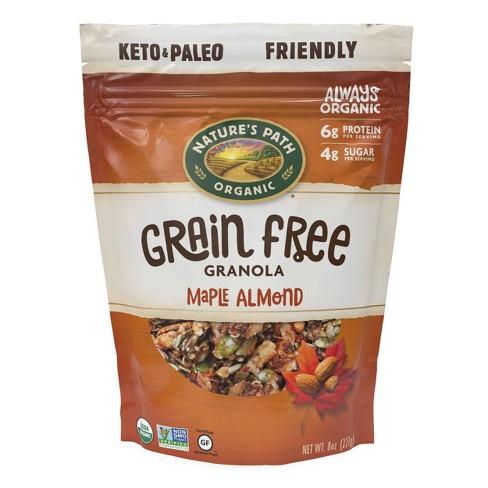 Nature's Path Grain Free Maple Almond Granola - 8oz - image 1 of 4