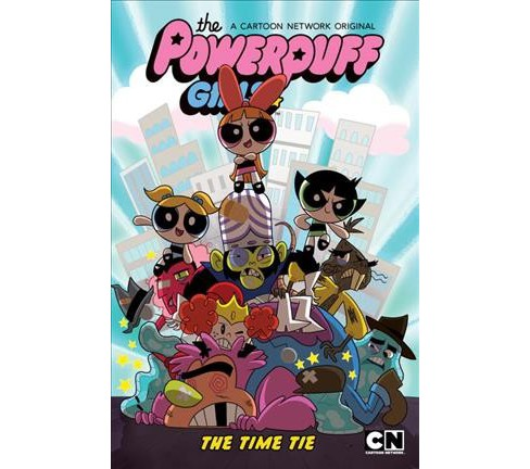 Powerpuff Girls : The Time Tie -  by Haley Mancini & Jake Goldman (Hardcover) - image 1 of 1