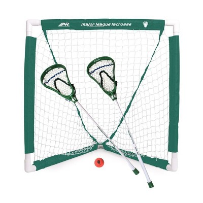 A&R Youth Lacrosse Goal Set - White