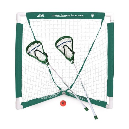 A&R Youth Lacrosse Goal Set - White - image 1 of 1