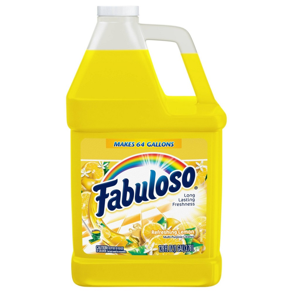 Fabuloso All Purpose Cleaner Concentrate for Multi Surface Action - Lemon - 128 fl oz