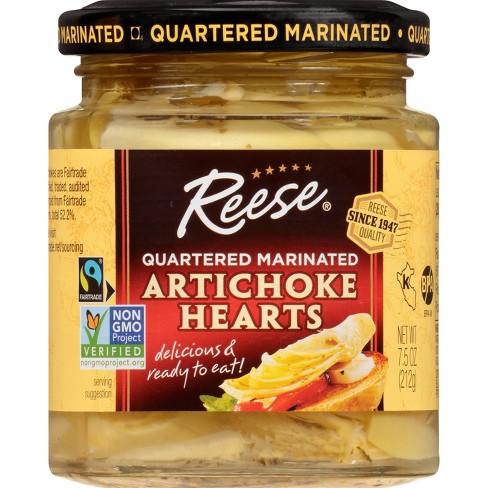 Reese Quartered Marinated Artichoke Hearts 7.5oz - image 1 of 3