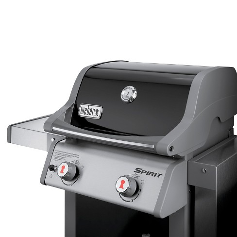 Weber Spirit E 210 Lp Gas Grill Black Model 4 6110001e7