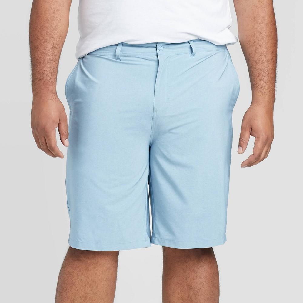 Men 39 S Big 38 Tall 10 5 34 Rotary Hybrid Shorts Goodfellow 38 Co 8482 Dusty Blue 44