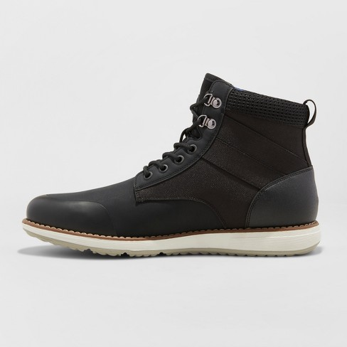 28cb54ea2f7 Men's Phil Casual Fashion Boots - Goodfellow   Co™ Black   Target