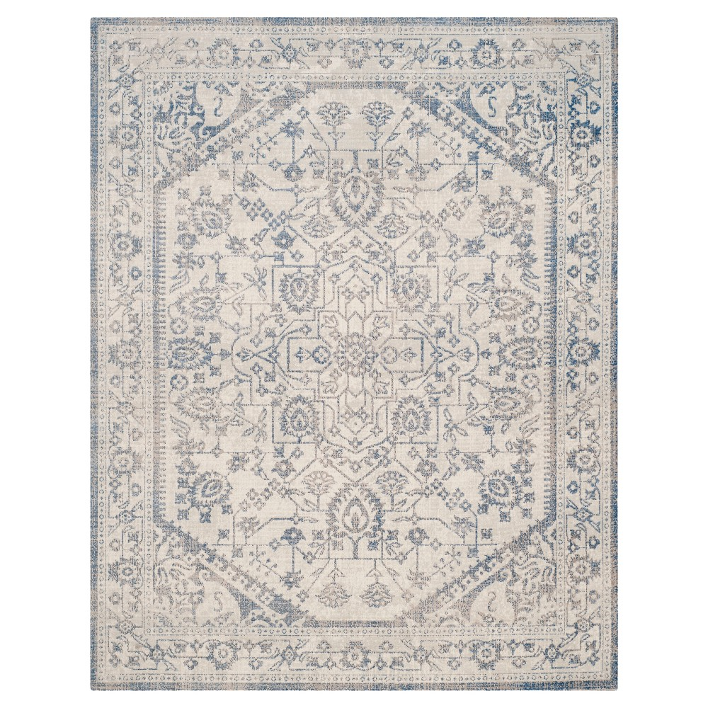 Jerrall Area Rug - Light Gray/Blue (9'x12') - Safavieh
