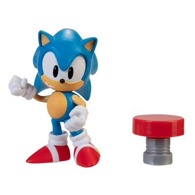 "Sonic the Hedgehog 4"" Figure Classic Sonic with Spring Wave 4"