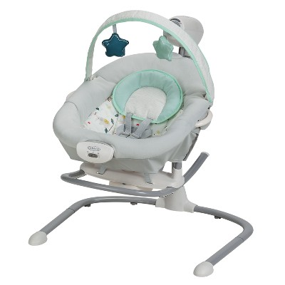 Graco Duet Sway Swing with Portable Rocker - Lilo