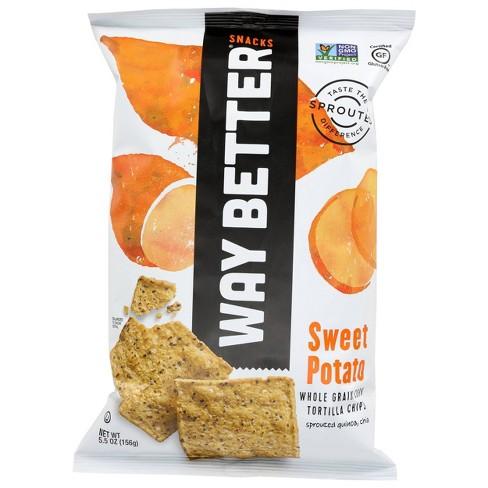 Way Better Snacks Sweet Potato Tortilla Chips - 5.5oz/12pk - image 1 of 2