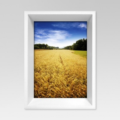 Lena Beveled Single Image Frame 5x7 - White - Project 62™