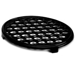 """Cast Iron Trivet For Wood Stoves, 10.5 X 7.5"""", In Black - Plow & Hearth"""