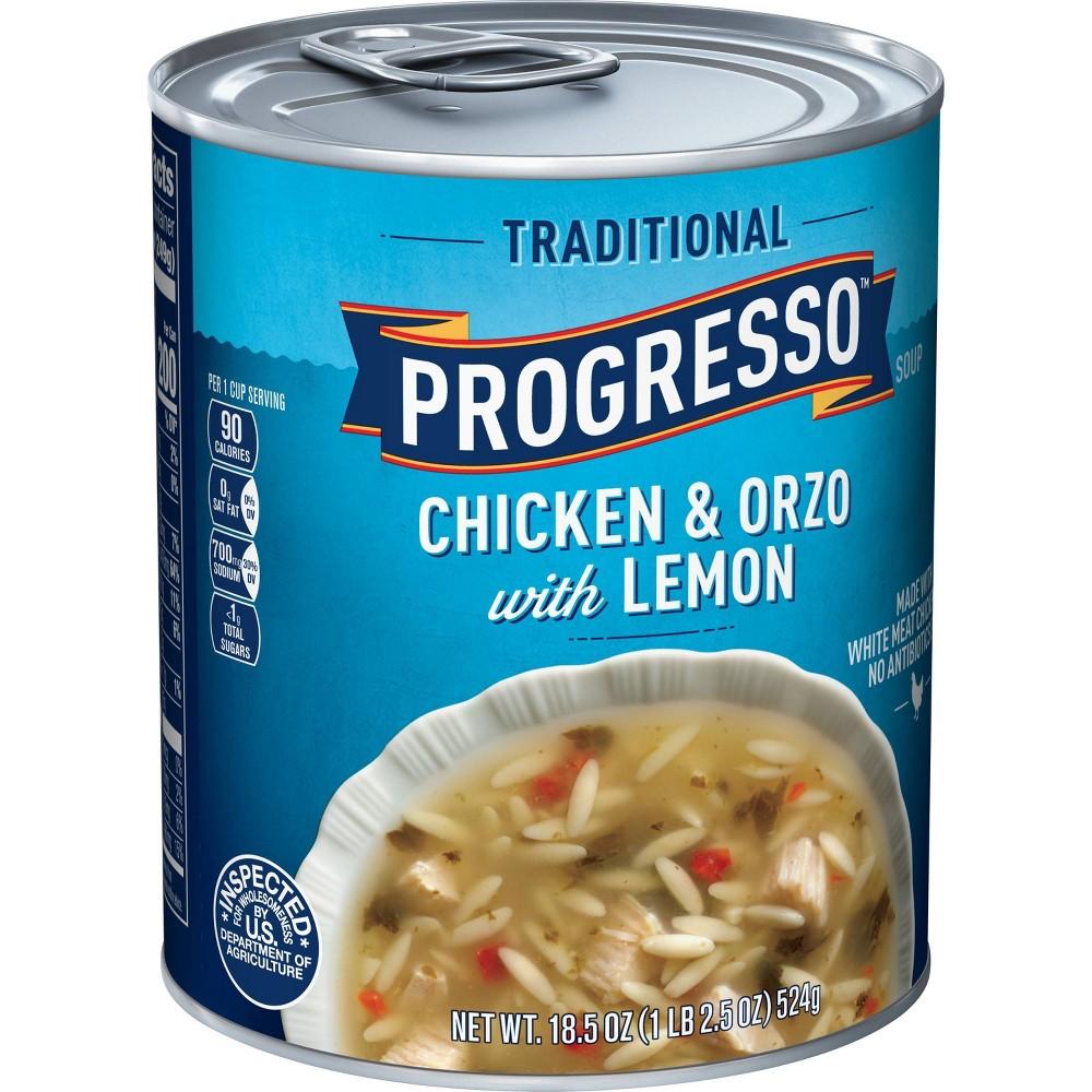 Progresso Traditional Chicken 38 Orzo With Lemon 18 5oz