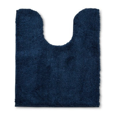 Tufted Spa Contour Bath Rug Metallic Blue - Fieldcrest®