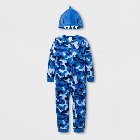 ee3153154 Baby Boys  Shark Blanket Sleeper - Cat   Jack™ Blue 12M   Target