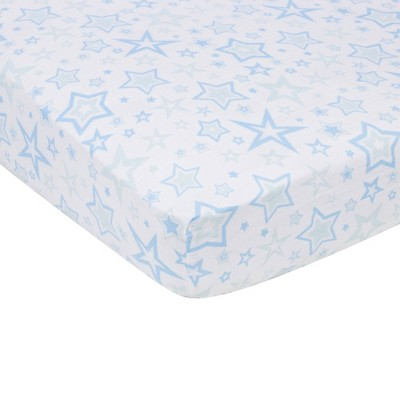 MiracleWare Fitted Sheets Nursery Set - Blue Stars