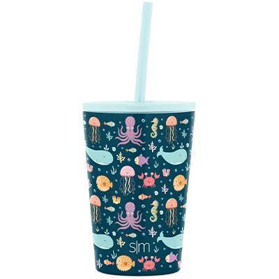 Simple Modern 12oz Stainless Steel Classic Kids Tumbler with Straw