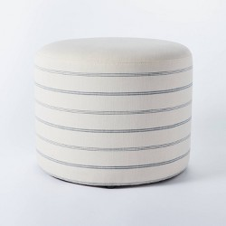 Lynwood Upholstered Round Cube - Threshold™ designed with Studio McGee