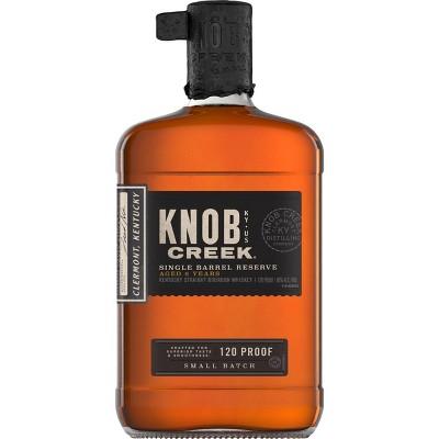 Knob Creek Single Barrel Whiskey - 750ml Bottle