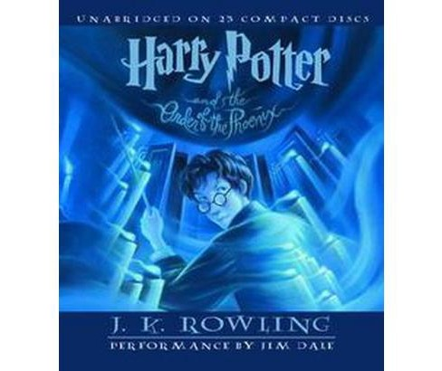 Harry Potter and the Order of the Phoenix (Unabridged) (CD/Spoken Word) (J. K. Rowling) - image 1 of 1