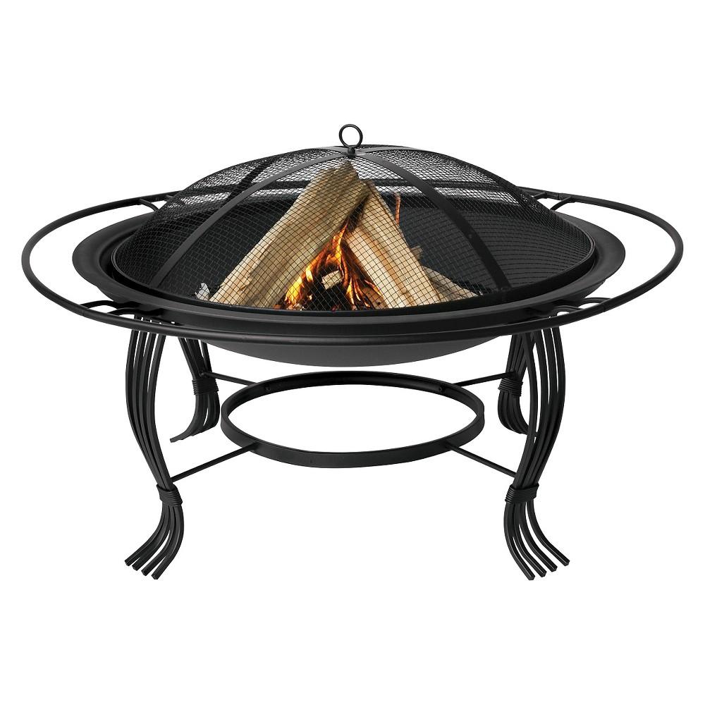UniFlame Fire Pit - Black