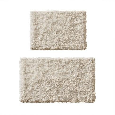 2pc Clout Organic Cotton Bath Rug Set, 3 Piece Bathroom Rug Set Target
