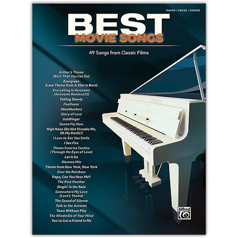 Alfred Best Movie Songs Piano/Vocal Songbook - image 1 of 1
