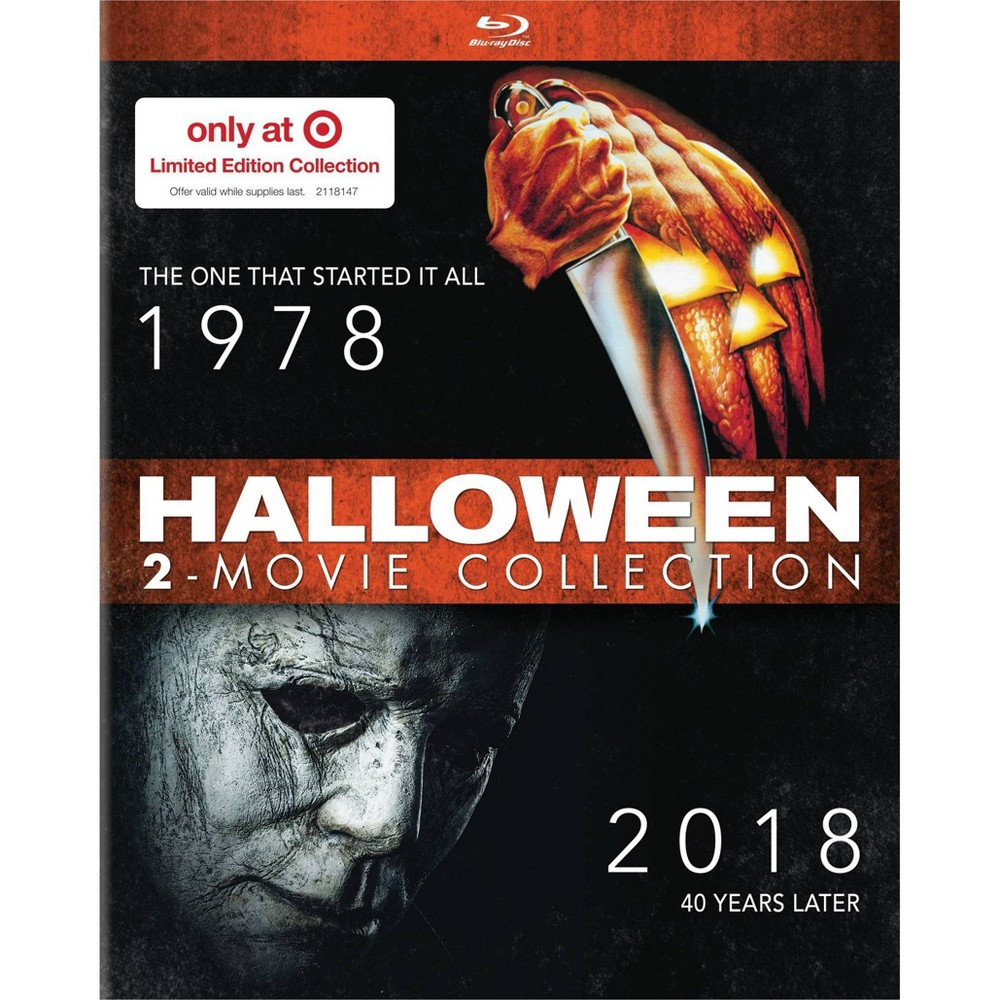 Halloween 1978 Movie Poster.Halloween 1978 2018 Blu Ray Set Coming To Target