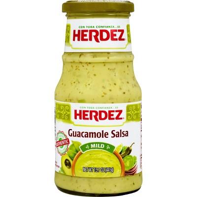 Herdez Guacamole Salsa Mild - 15.7oz