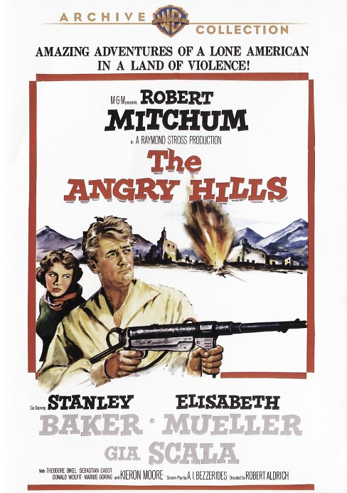 Angry hills (DVD) - image 1 of 1