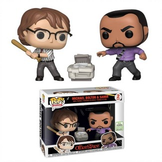 Funko POP! Movies 2pk: 2019 ECCC Office Space - Michael Bolton & Samir (Target Exclusive)