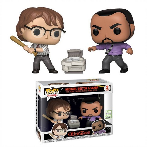 Funko POP! Movies 2pk: 2019 ECCC Office Space - Michael Bolton & Samir (Target Exclusive) - image 1 of 3