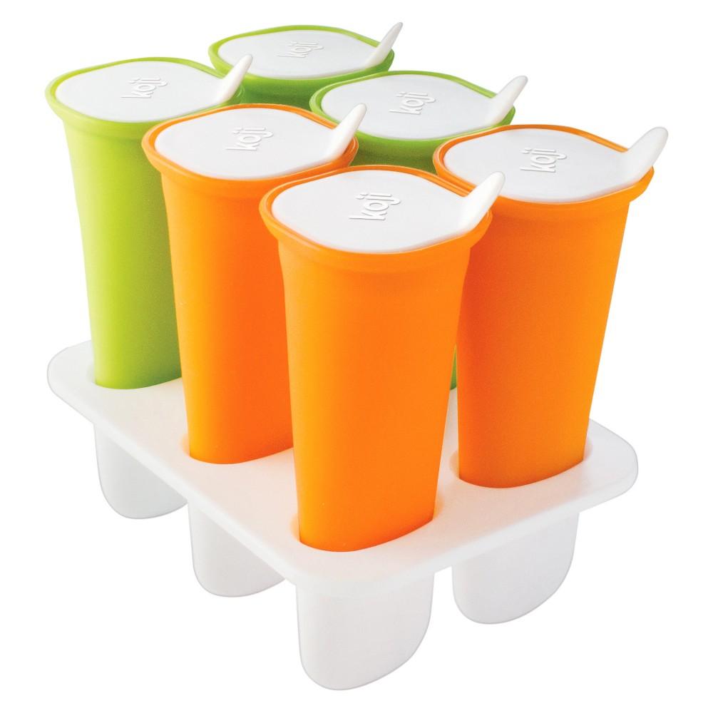 Koji Squeeze Pops Orange/Green 6pc KJ-006, Red