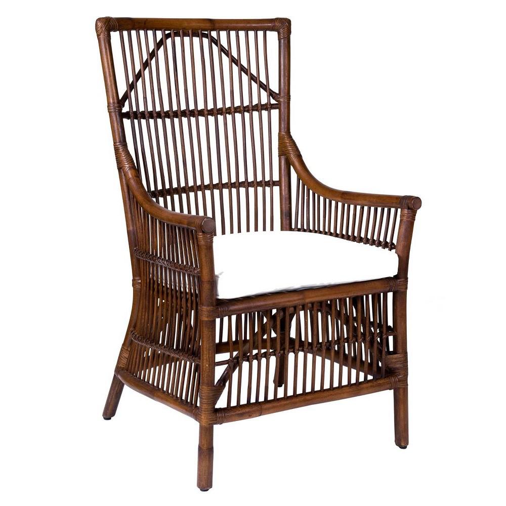 Walton Rattan Occasional Chair Brown - East At Main