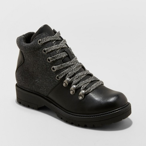 Women's Karri Lace Up Hiker Boots - Universal Thread™ - image 1 of 3