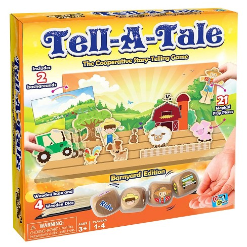 Tell-A-Tale Barnyard Edition Game - image 1 of 5