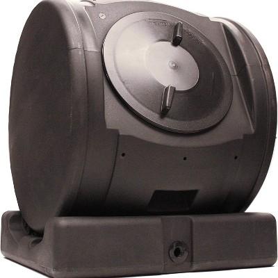Good Ideas Plastic Outdoor 6.5-Cubic-Foot Compost Wizard EnviroTumbler Composter with Handles, Black