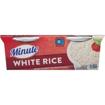 Minute Rice Gluten Free Grain Microwaveable White Rice Bowl - 8.8oz/2ct