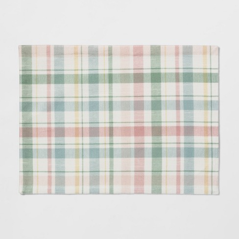 Plaid Placemat - Threshold™ - image 1 of 1